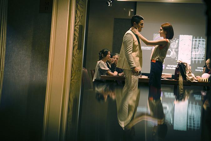 Wei-Ning Hsu and Thomas Price in Design 7 Love (2014)