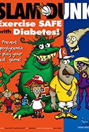 SLAM DUNK: Exercise Safe with Diabetes Poster