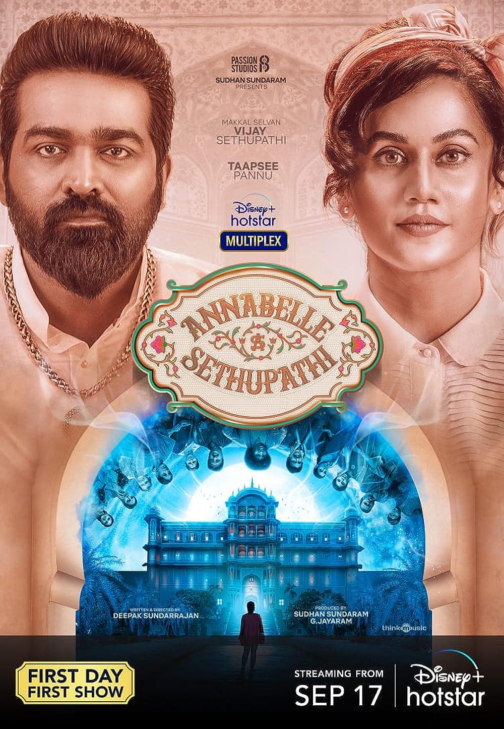 Annabelle Sethupathi 2021 Hindi ORG Dual Audio UNCUT 480p DSNP HDRip MSub 484MB Download