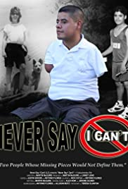 Never Say I Can't Poster
