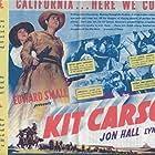 Lynn Bari and Jon Hall in Kit Carson (1940)