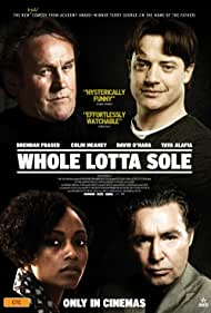 Brendan Fraser, Colm Meaney, and Yaya DaCosta in Whole Lotta Sole (2011)