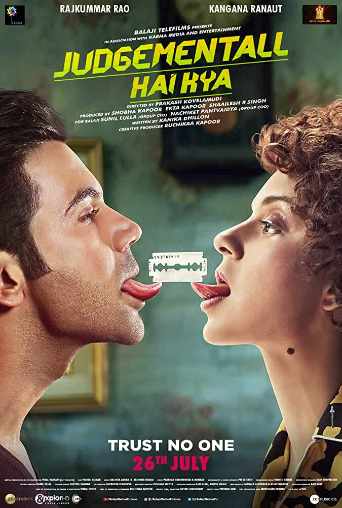 Judgementall Hai Kya (2019) Hindi 720p CAMRip 999MB