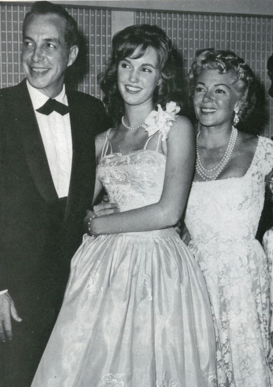 Lana Turner, Stephen Crane, and Cheryl Crane