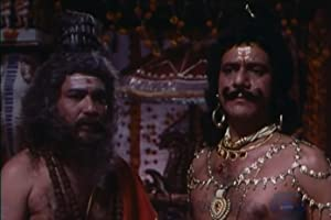 Om Puri and Devendra Malhotra in Bharat Ek Khoj (1988)