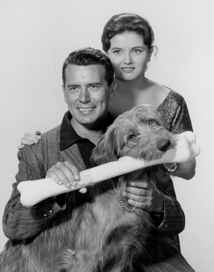 John Forsythe and Noreen Corcoran in Bachelor Father (1957)