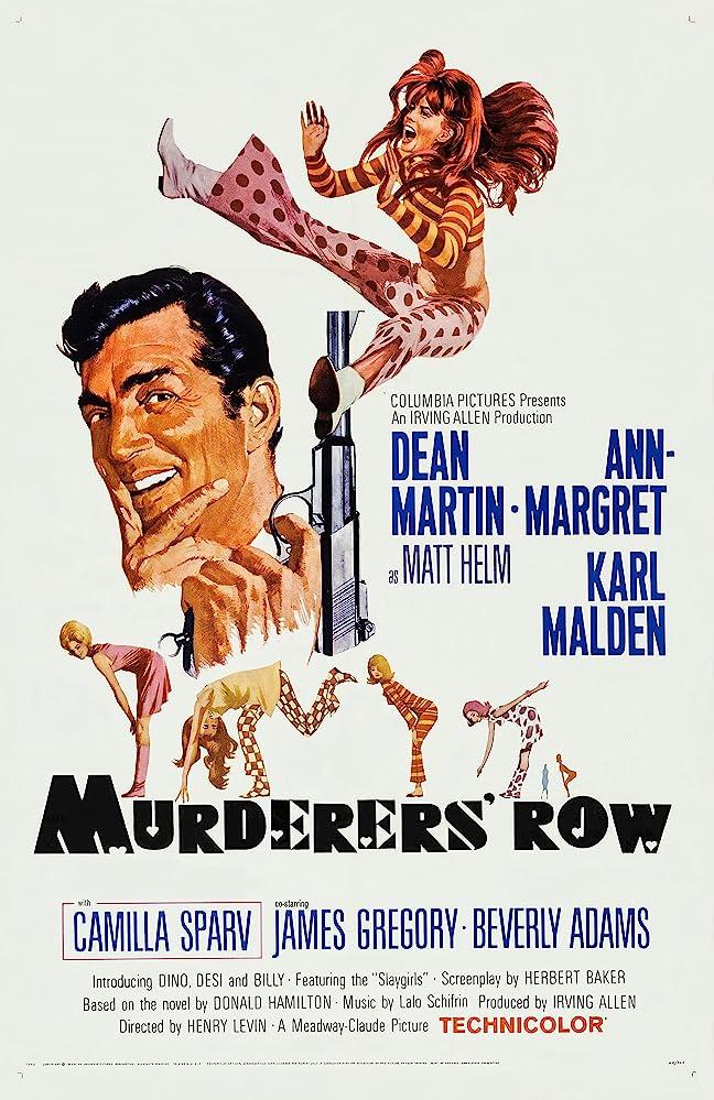 Ann-Margret and Dean Martin in Murderers' Row (1966)