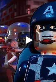 Lego Captain America 3: Nazi Zombies Poster