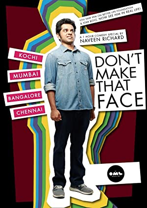 Don't Make That Face by Naveen Richard ( Naveen Richard: Don't Make That Face )