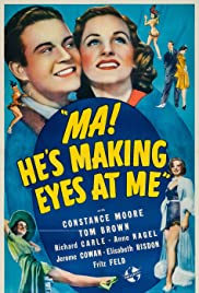 Ma! He's Making Eyes at Me Poster