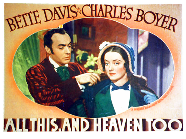 Image result for all this and heaven too 1940