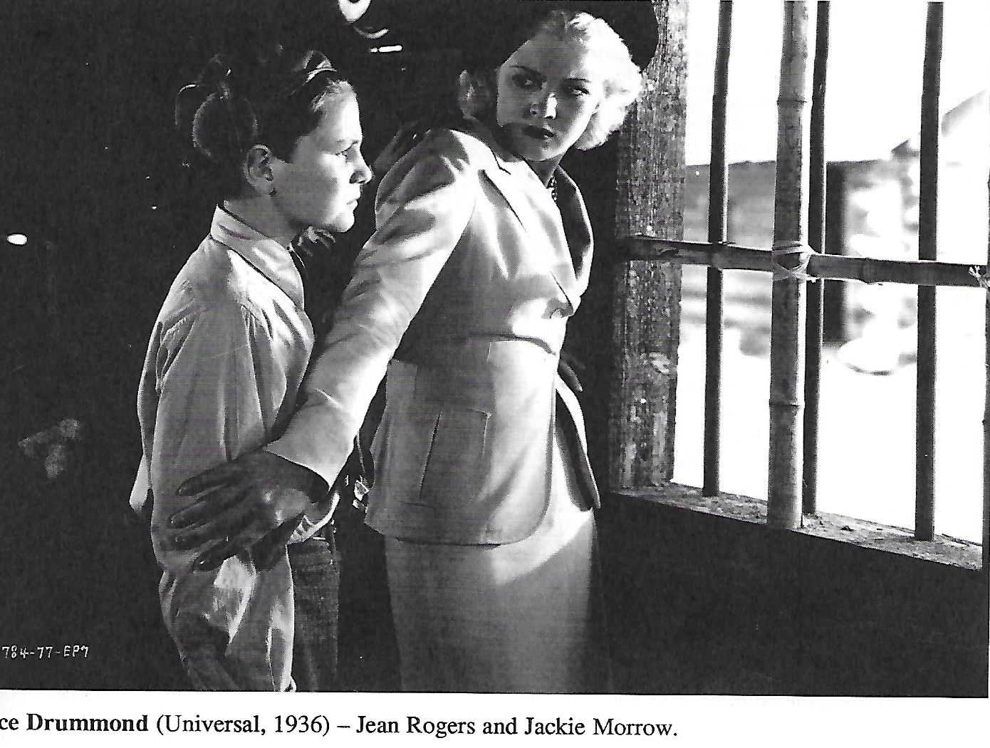 Jackie Morrow and Jean Rogers in Ace Drummond (1936)