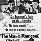 Fernandel and Armande Navarre in L'homme à l'imperméable (1957)