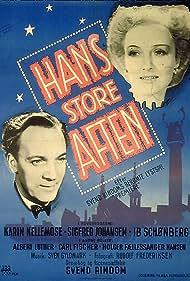 Sigfred Johansen and Karin Nellemose in Hans store aften (1946)