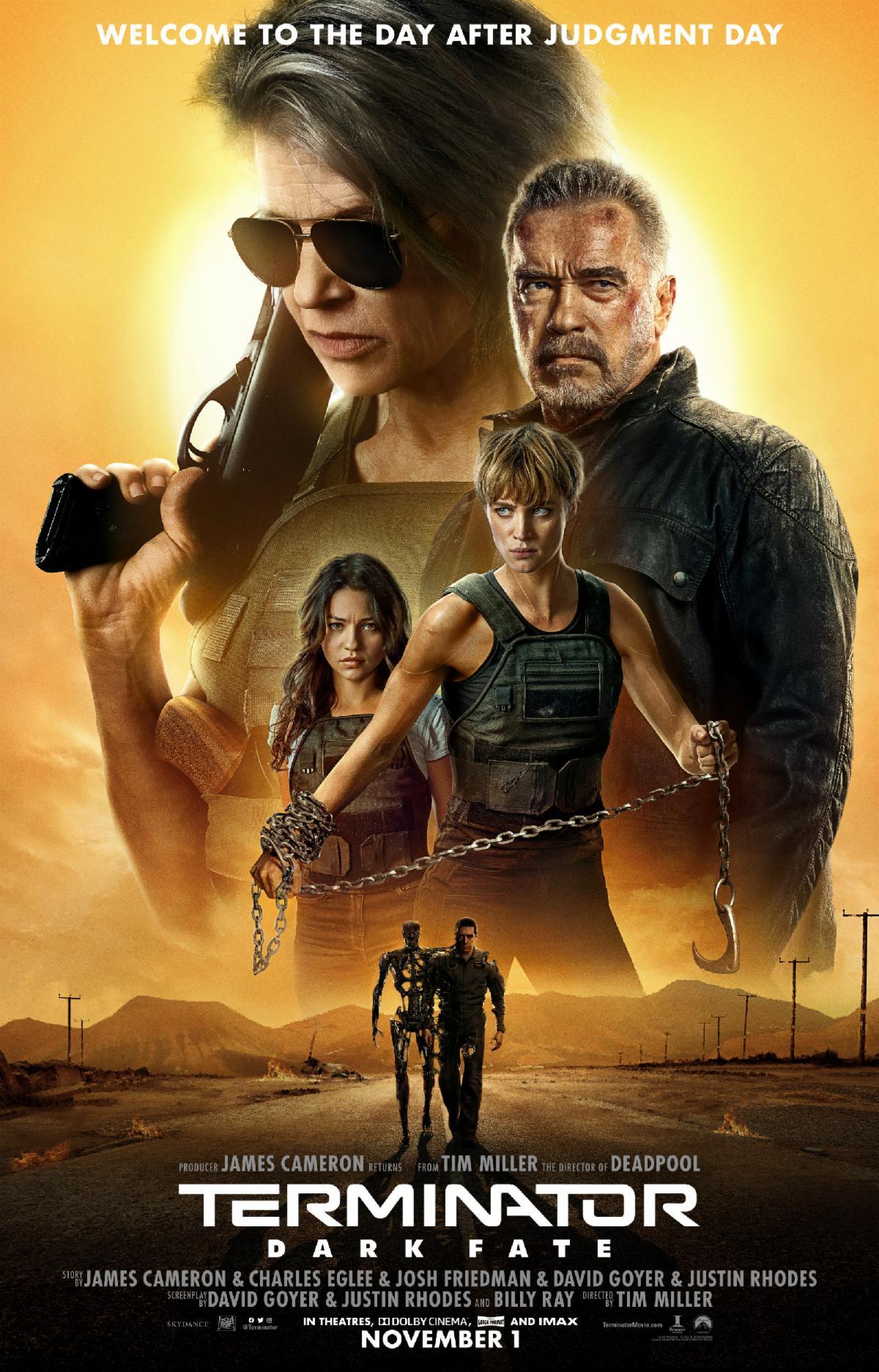 Terminator: Dark Fate (2019) Dual Audio [Hindi+English] 720p Blu-Ray x265 AAC 800MB