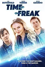 Skyler Gisondo, Asa Butterfield, and Sophie Turner in Time Freak (2018)
