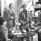 Lex Barker, John Dehner, John Harmon, and Myron Healey in The Man from Bitter Ridge (1955)