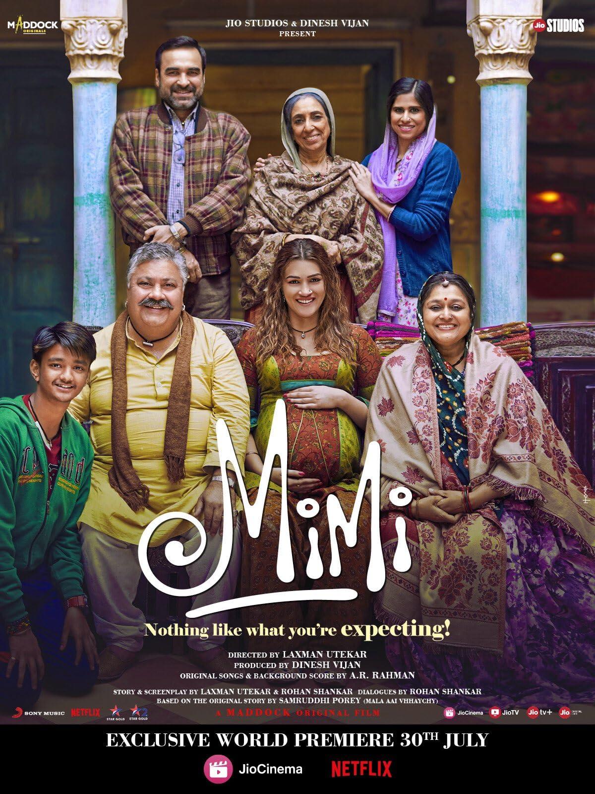 Mimi | 2021 | Hindi | 1080p | 720p | WEB-DL