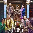 Manoj Pahwa, Supriya Pathak, Amardeep Jha, Sheikh Ishaque Mohammad, Pankaj Tripathi, Sai Tamhankar, and Kriti Sanon in Mimi (2021)