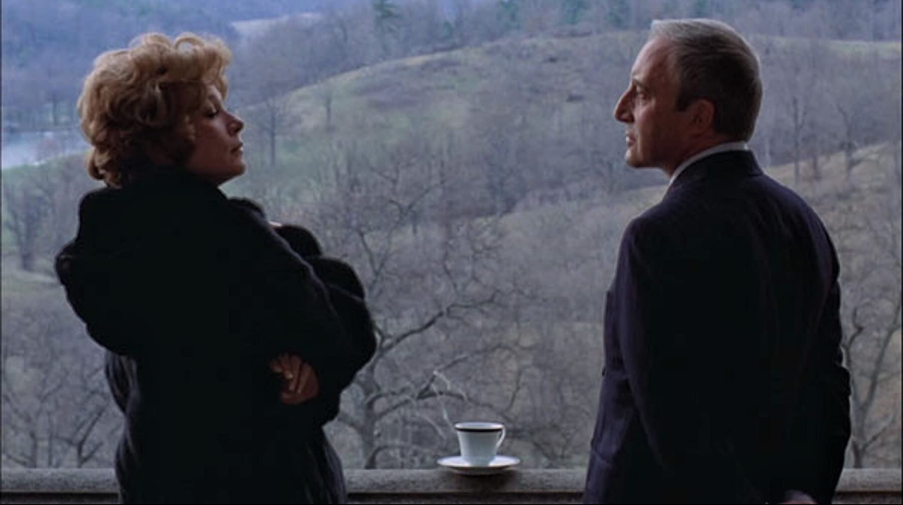 Shirley MacLaine and Peter Sellers in Being There