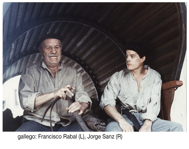 Francisco Rabal and Jorge Sanz in Gallego (1988)