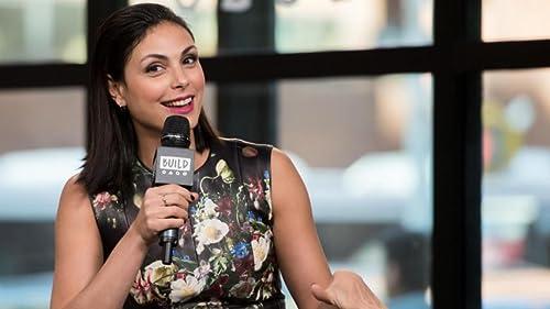 BUILD: Morena Baccarin Talks DC, Marvel And Navigating Both Fandoms