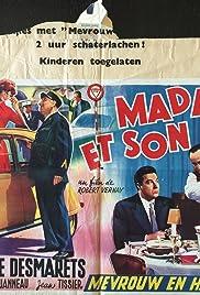 Madame et son auto Poster