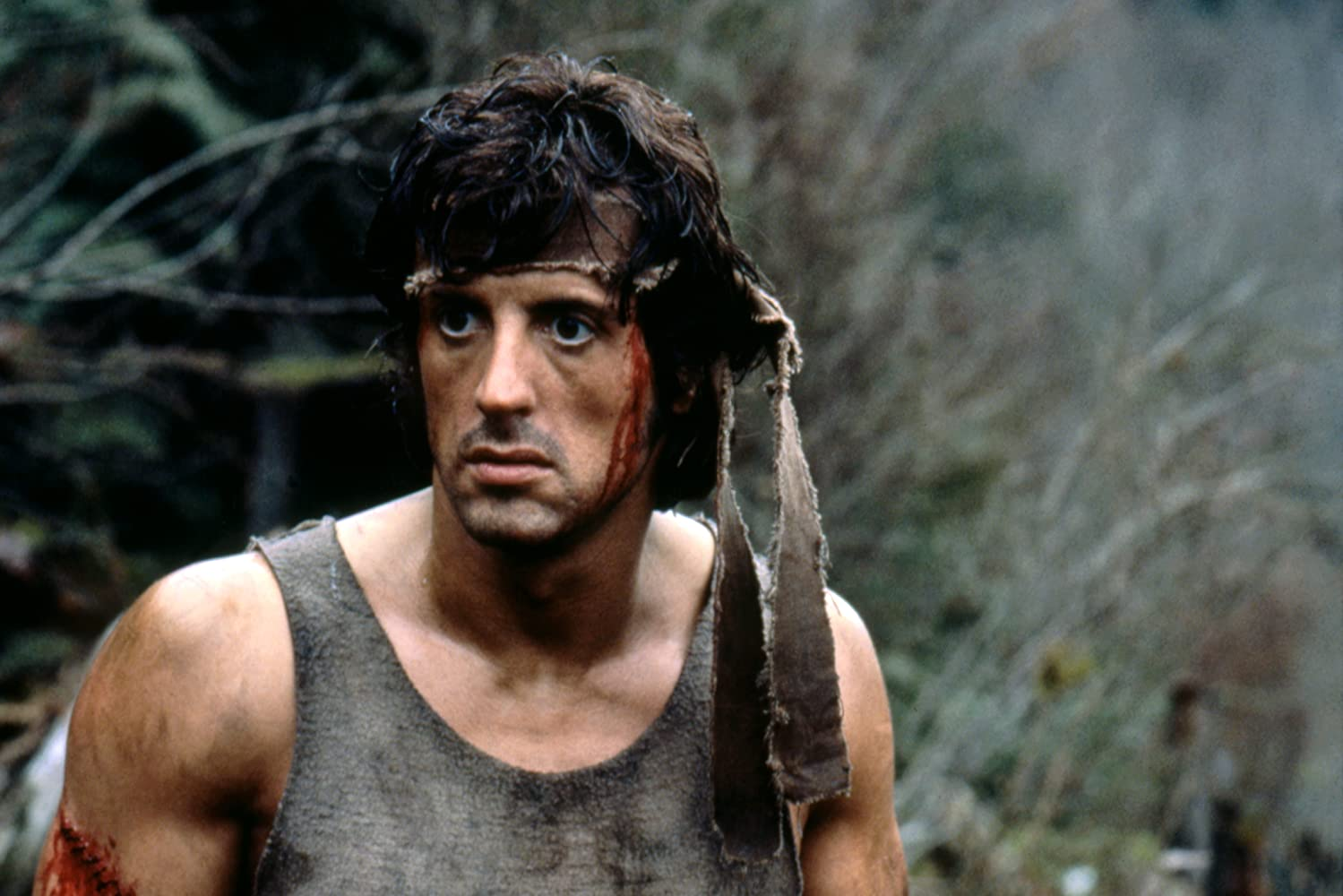 Sylvester Stallone in First Blood (1982)