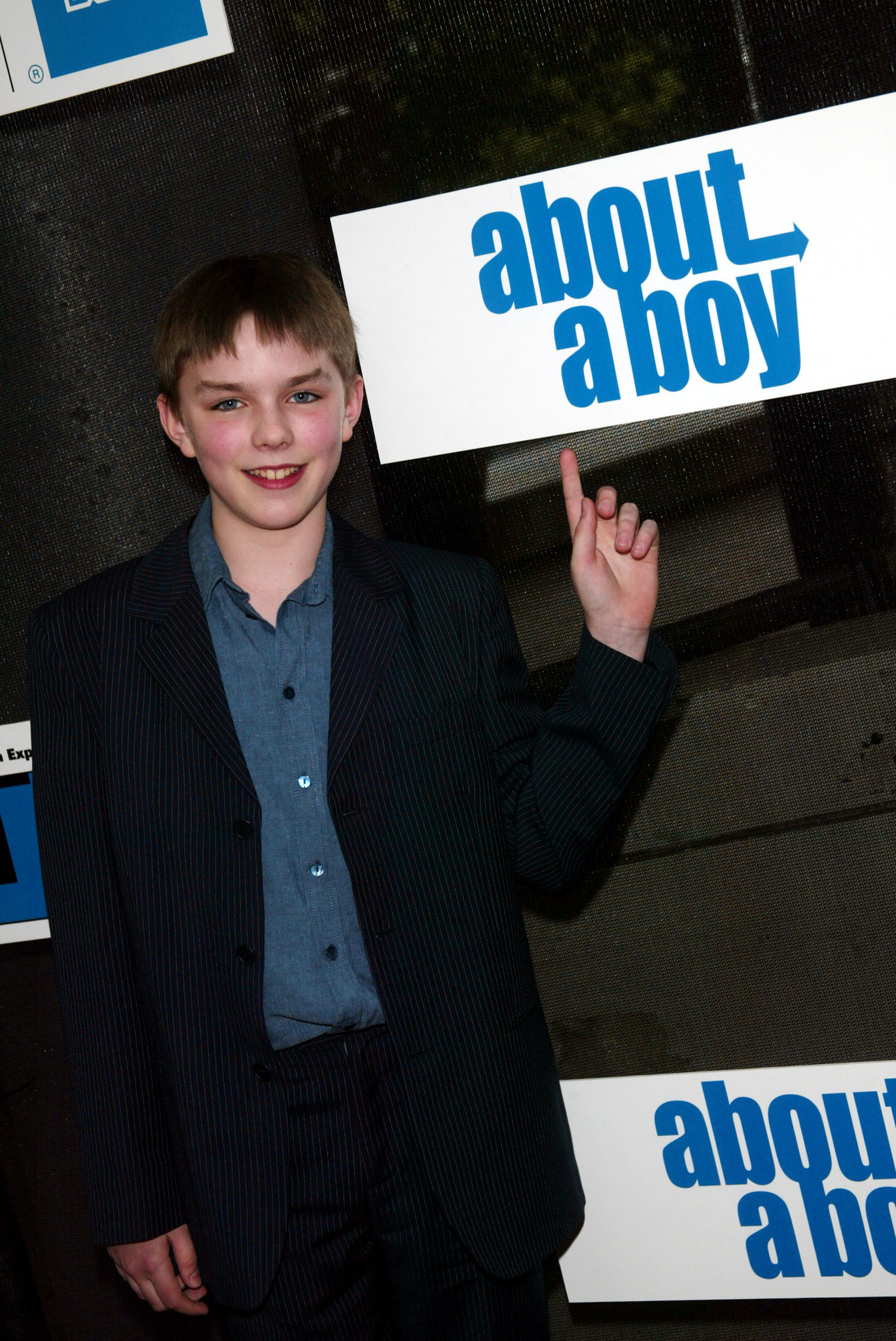 Nicholas Hoult at an event for About a Boy (2002)