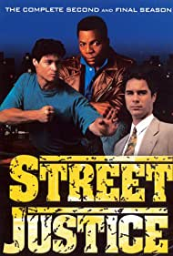 Carl Weathers, Eric McCormack, and Bryan Genesse in Street Justice (1991)