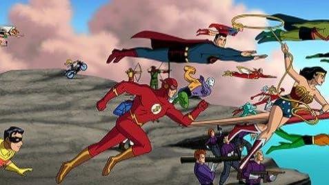 Resultado de imagem para justice league new frontier