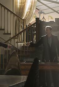 James Purefoy and Joel Kinnaman in Altered Carbon (2018)