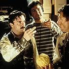 Nathan Lane, Lee Evans, and Gore Verbinski in Mousehunt (1997)