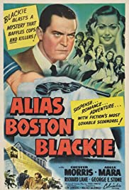 Alias Boston Blackie (1942) Poster - Movie Forum, Cast, Reviews