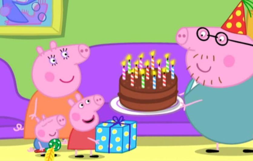 Daddy Pig S Birthday 2007