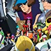 Hiroyuki Yoshino, Jun'ichi Suwabe, Ian Sinclair, Alison Viktorin, Joel McDonald, and Uki Satake in Space Dandy (2014)