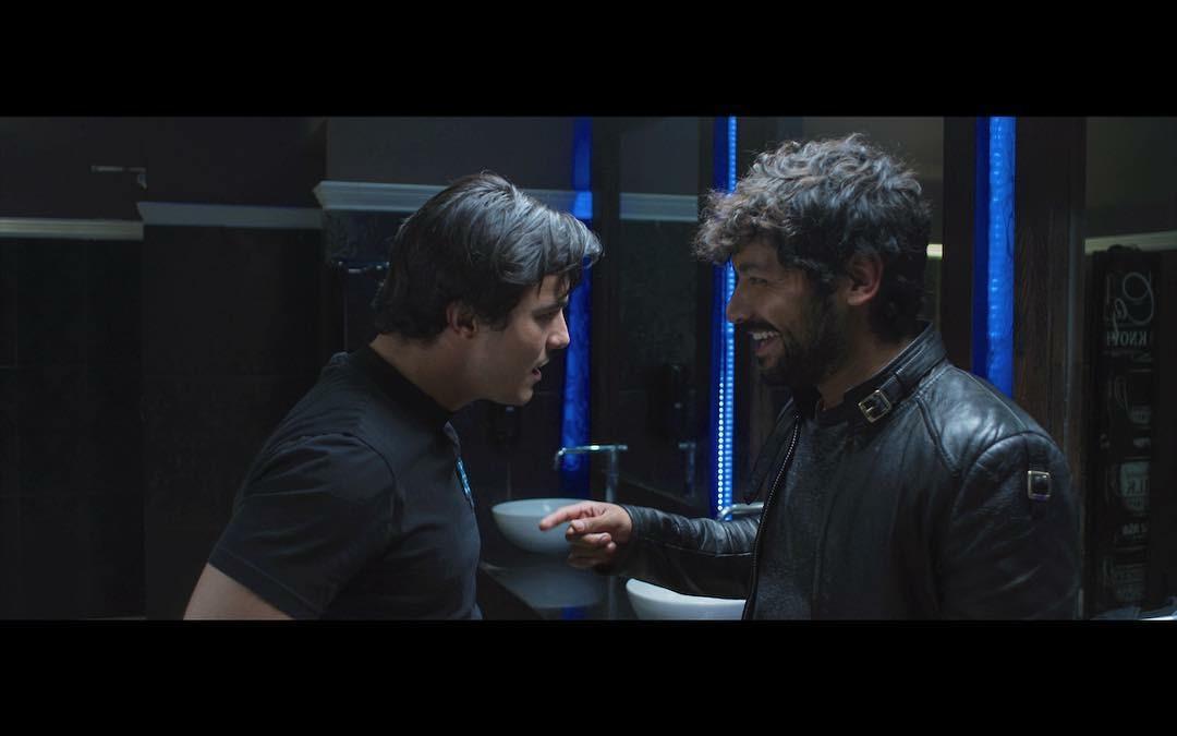 Christian Vazquez and Carlos Elias Yorvick in Las Reglas del Rey