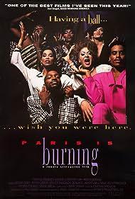 Dorian Corey, Junior LaBeija, Pepper LaBeija, Octavia St. Laurent, and Anji Xtravaganza in Paris Is Burning (1990)