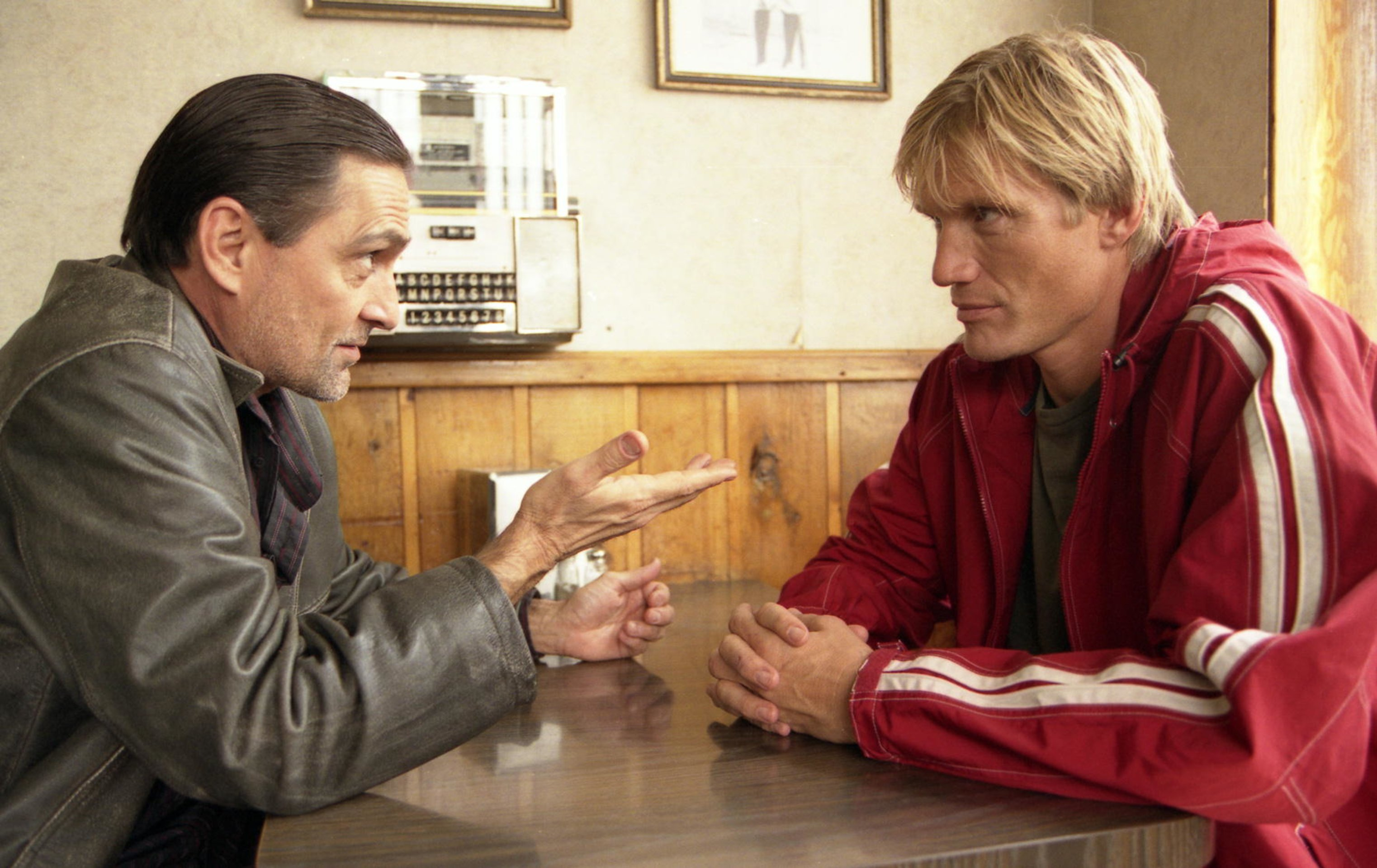Dolph Lundgren and Conrad Dunn in Direct Action (2004)