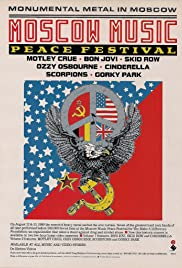 Moscow Music Peace Festival Poster