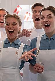 Molly Blixt Egelind, Anna Stokholm, and Mikkel Hilgart in Afsked / Parting (2019)
