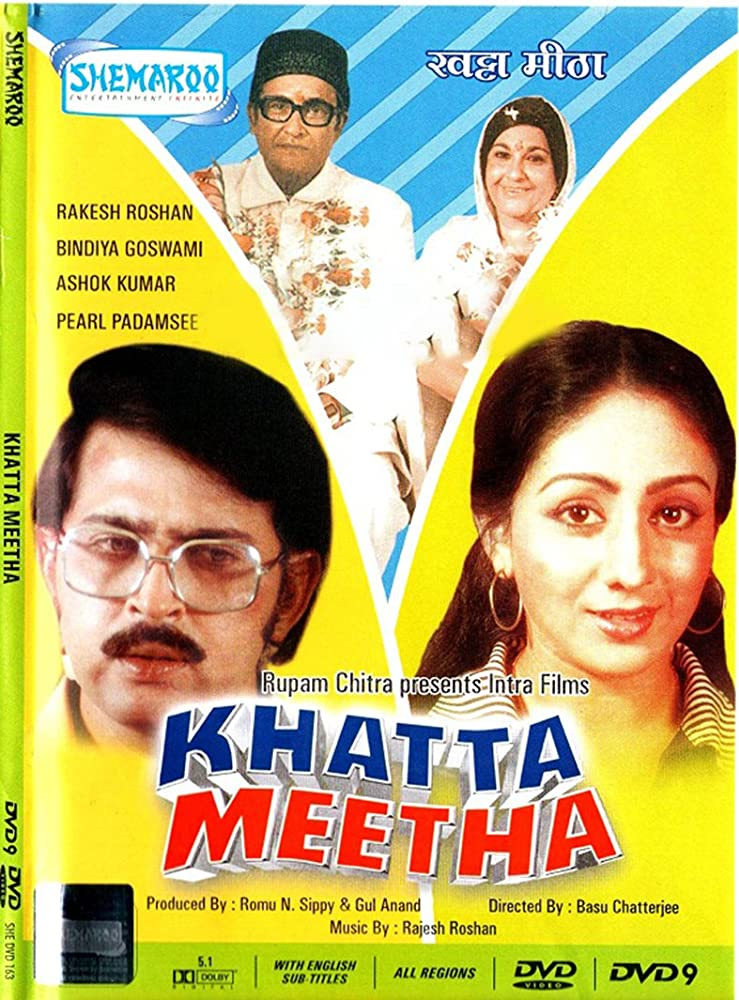 Khatta Meetha 1978 Hindi Movie AMZN WebRip 300mb 480p 1GB 720p 3GB 5GB 1080p