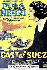 East of Suez Poster