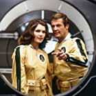 Roger Moore and Lois Chiles in Moonraker (1979)