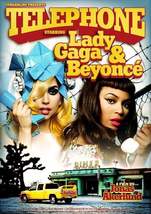 دانلود زیرنویس فارسی فیلم Lady Gaga Feat. Beyoncé: Telephone