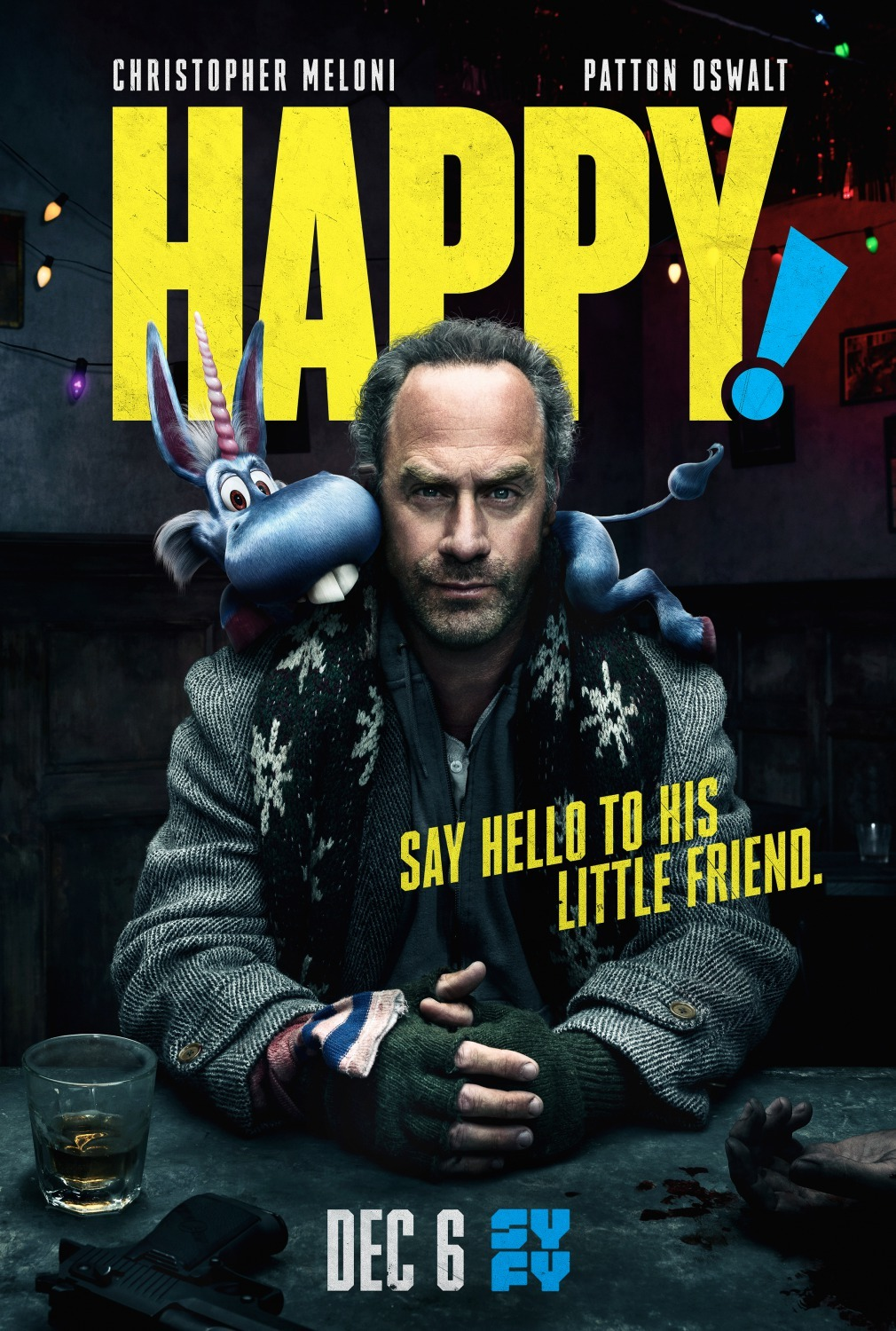 Hepis (2 Sezonas) / Happy! (Season 2)