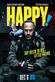 Christopher Meloni and Patton Oswalt in Happy! (2017)