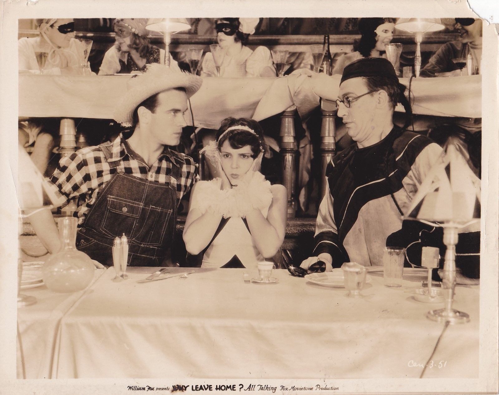 Sue Carol, Walter Catlett, and Nick Stuart in Why Leave Home? (1929)