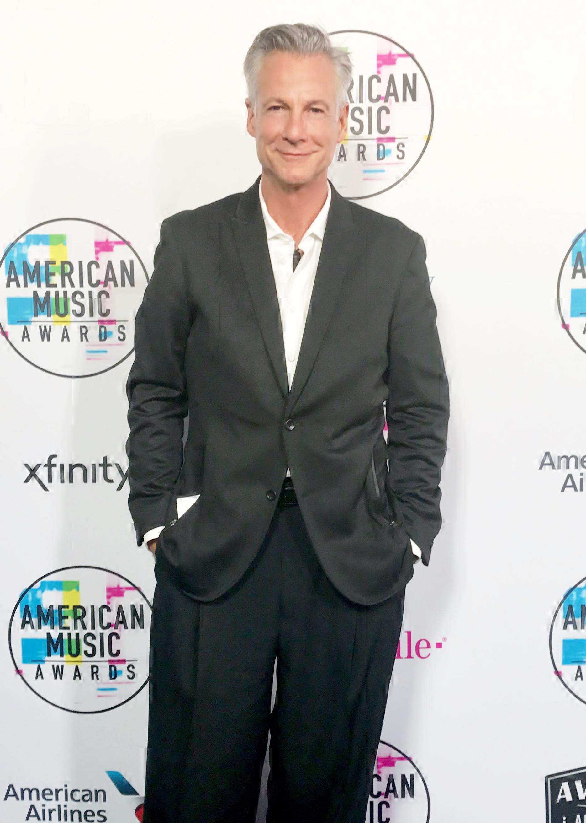 Michael Nicklin at the 2017 American Music Awards, Los Angeles, CA