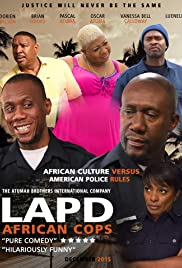 LAPD African Cops Poster